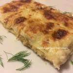 Cannelloni di patate e funghi