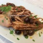 Moscardini ai pomodori secchi e olive taggiasche