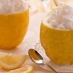 Sorbetto da ristorante al limone