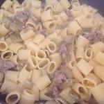 Mezze maniche con carciofi e salsiccia_8