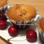 Muffin con cuore di ciliegia