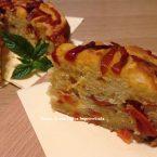 Torta soffice di peperoni