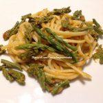 Linguine con asparagi e ricci di mare